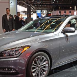 Новое поколения Genesis G80 будет стоить на $2,650 дороже предыдущей модели