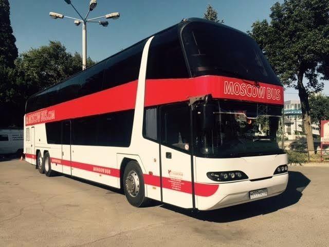 Комфортабельный автобус Москва  Донецк Украина