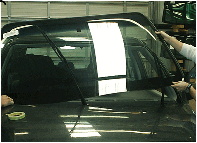 Оперативная установка стекол